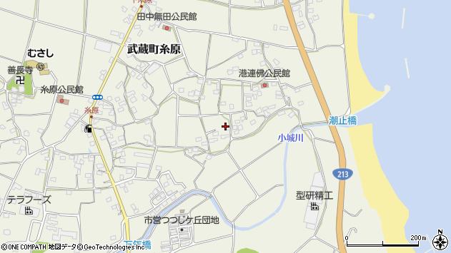 大分県国東市武蔵町糸原1705周辺の地図