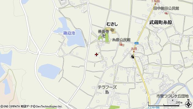 大分県国東市武蔵町糸原199周辺の地図