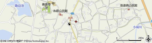 大分県国東市武蔵町糸原1424周辺の地図