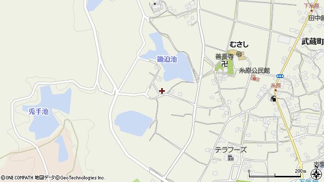 大分県国東市武蔵町糸原1015周辺の地図