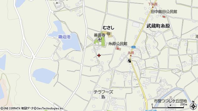 大分県国東市武蔵町糸原1130周辺の地図