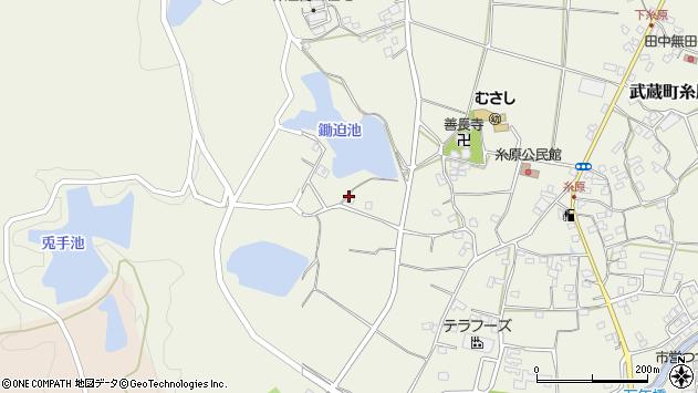 大分県国東市武蔵町糸原1029周辺の地図