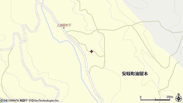 大分県国東市安岐町油留木3242周辺の地図