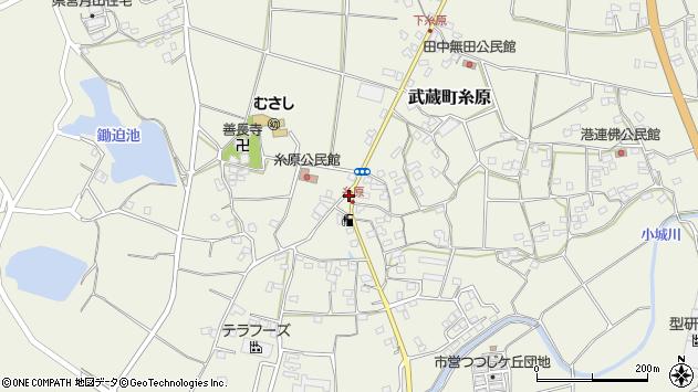 大分県国東市武蔵町糸原1270周辺の地図