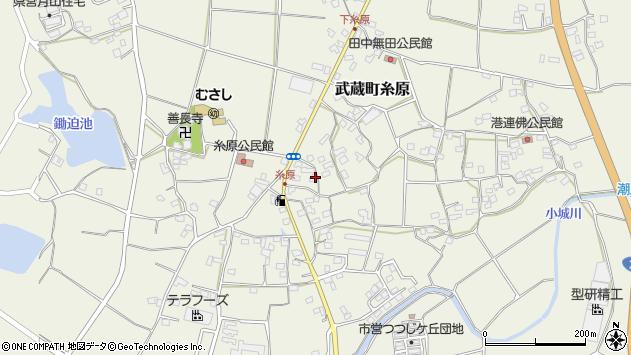 大分県国東市武蔵町糸原1433周辺の地図