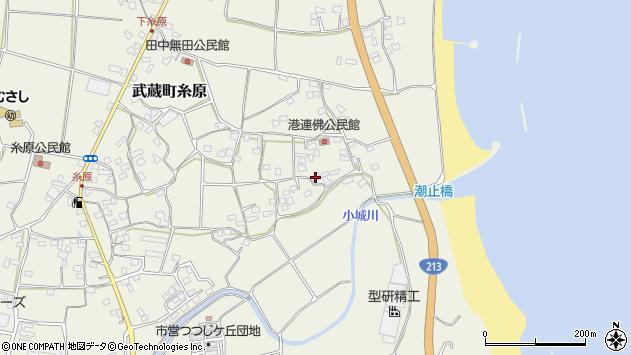 大分県国東市武蔵町糸原1725周辺の地図