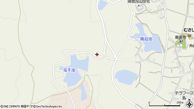 大分県国東市武蔵町糸原940周辺の地図
