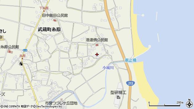 大分県国東市武蔵町糸原1727周辺の地図