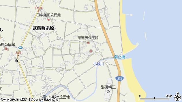 大分県国東市武蔵町糸原1728周辺の地図
