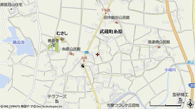 大分県国東市武蔵町糸原1443周辺の地図