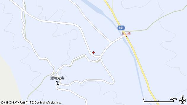 大分県国東市安岐町糸永1278周辺の地図
