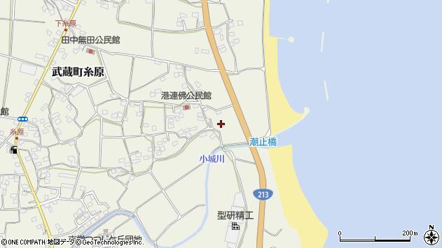 大分県国東市武蔵町糸原1936周辺の地図