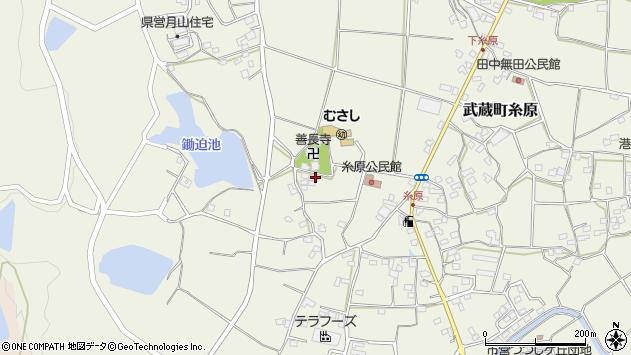大分県国東市武蔵町糸原1111周辺の地図