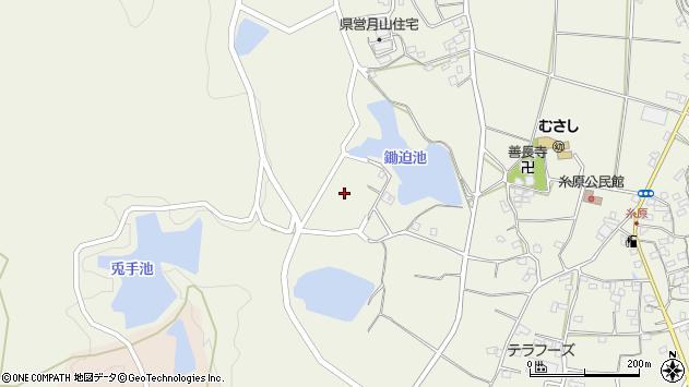 大分県国東市武蔵町糸原972周辺の地図