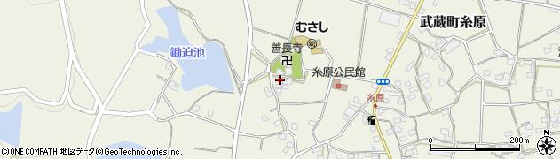 大分県国東市武蔵町糸原1104周辺の地図