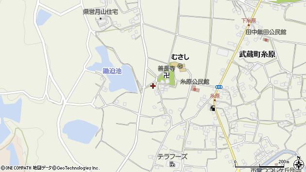 大分県国東市武蔵町糸原1100周辺の地図