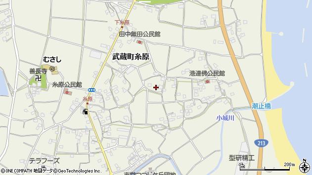 大分県国東市武蔵町糸原1679周辺の地図