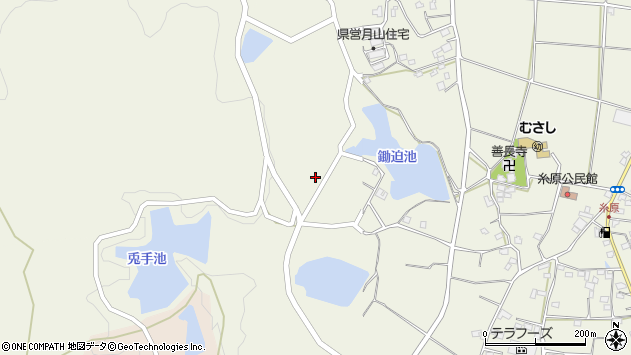 大分県国東市武蔵町糸原953周辺の地図