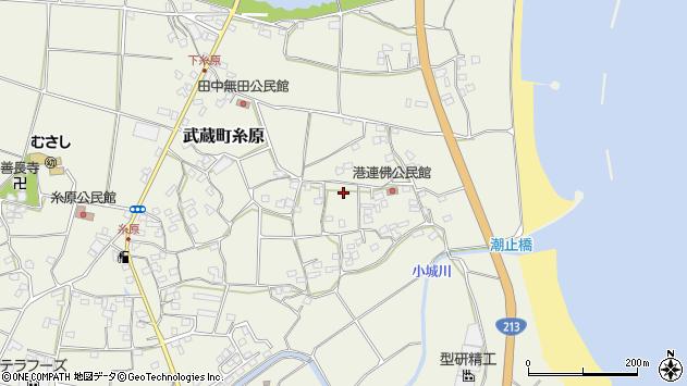 大分県国東市武蔵町糸原1681周辺の地図