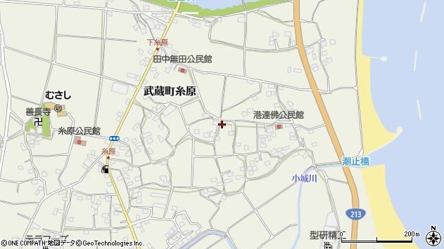 大分県国東市武蔵町糸原1763周辺の地図