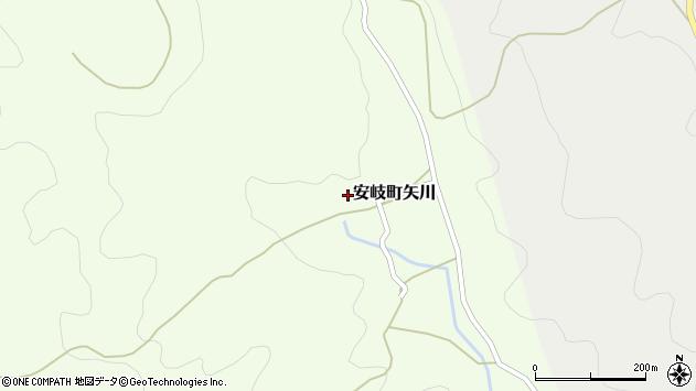 大分県国東市安岐町矢川523周辺の地図