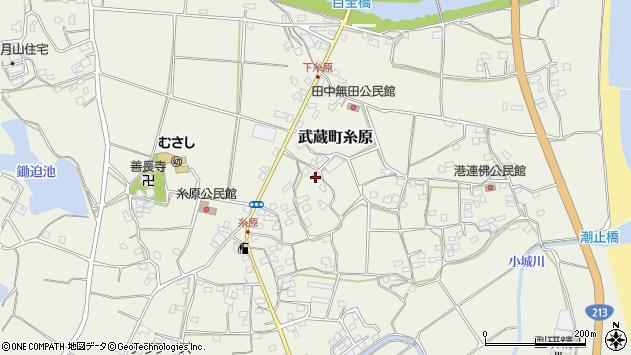 大分県国東市武蔵町糸原1489周辺の地図