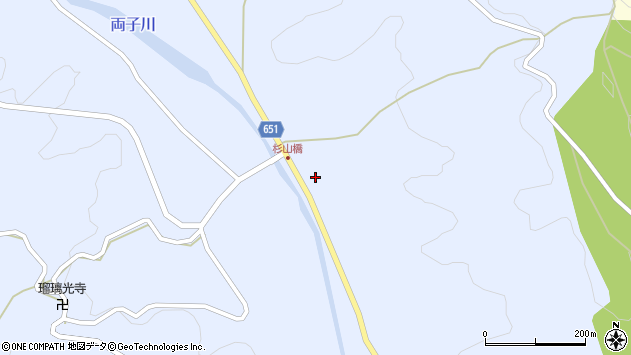 大分県国東市安岐町糸永3505周辺の地図