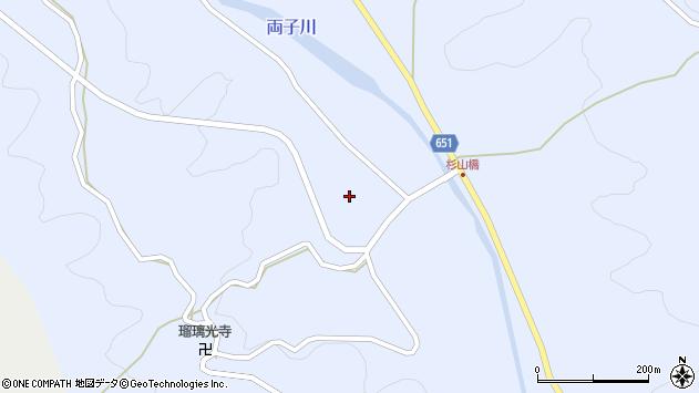大分県国東市安岐町糸永杉山周辺の地図