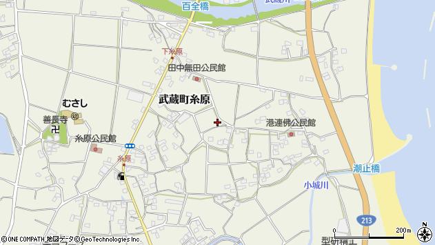 大分県国東市武蔵町糸原1775周辺の地図