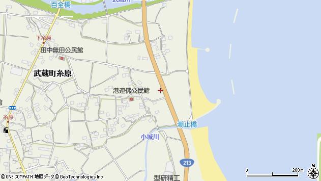大分県国東市武蔵町糸原1946周辺の地図