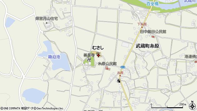 大分県国東市武蔵町糸原498周辺の地図