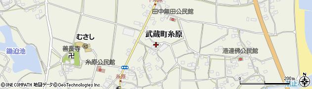 大分県国東市武蔵町糸原1488周辺の地図