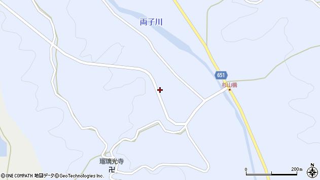 大分県国東市安岐町糸永1186周辺の地図