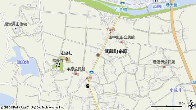 大分県国東市武蔵町糸原436周辺の地図