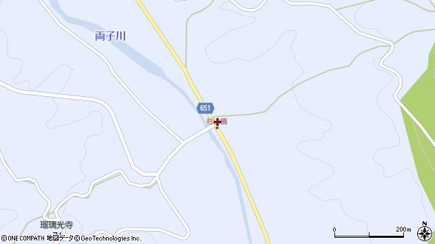 大分県国東市安岐町糸永1651周辺の地図