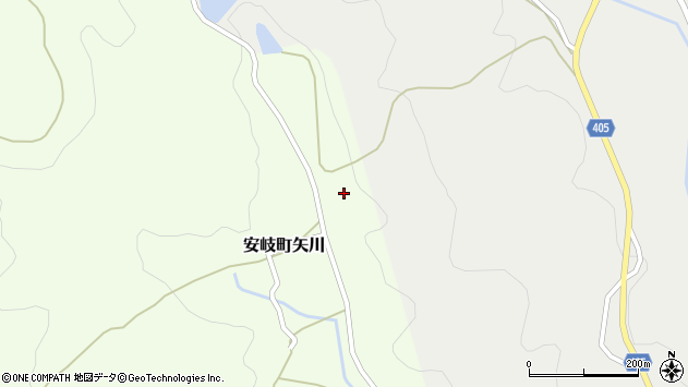 大分県国東市安岐町矢川320周辺の地図
