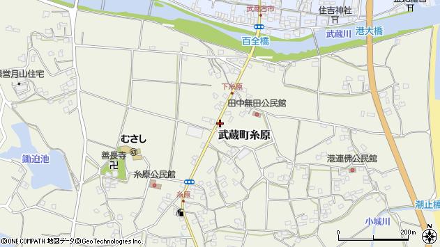 大分県国東市武蔵町糸原301周辺の地図