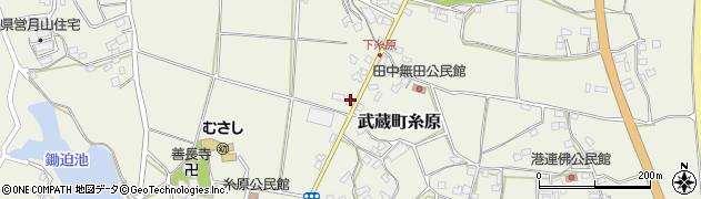 大分県国東市武蔵町糸原303周辺の地図