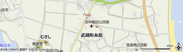 大分県国東市武蔵町糸原1825周辺の地図