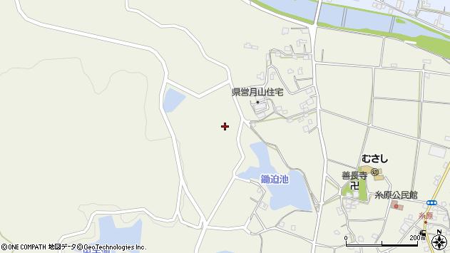 大分県国東市武蔵町糸原850周辺の地図