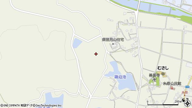 大分県国東市武蔵町糸原884周辺の地図