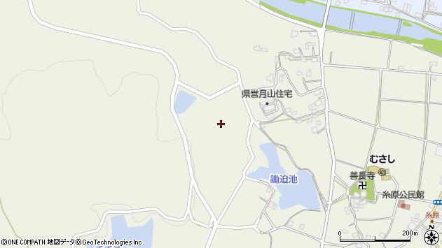 大分県国東市武蔵町糸原885周辺の地図