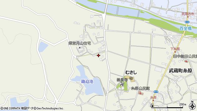 大分県国東市武蔵町糸原704周辺の地図