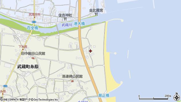 大分県国東市武蔵町糸原119周辺の地図