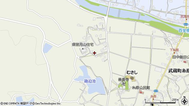大分県国東市武蔵町糸原671周辺の地図
