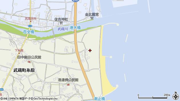 大分県国東市武蔵町糸原107周辺の地図