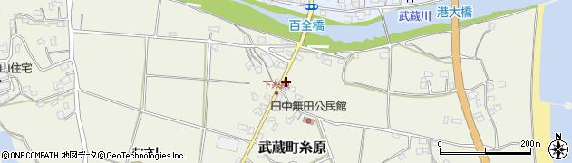 大分県国東市武蔵町糸原217周辺の地図