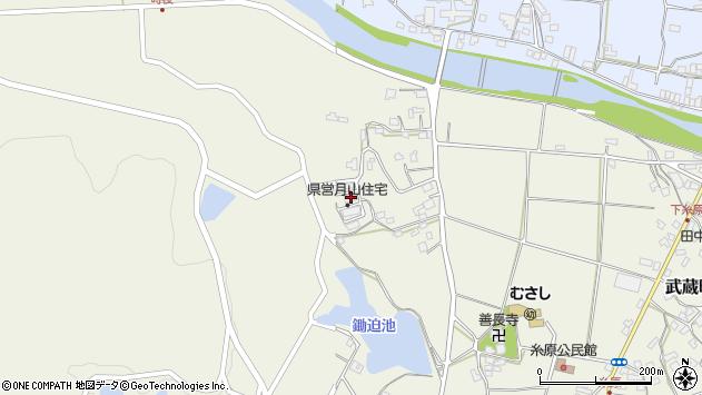 大分県国東市武蔵町糸原684周辺の地図