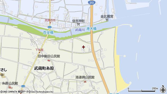 大分県国東市武蔵町糸原70周辺の地図