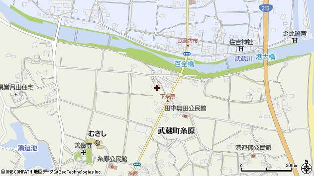 大分県国東市武蔵町糸原289周辺の地図